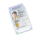 CardProtector rigid, shielded holder, holds 2 cards