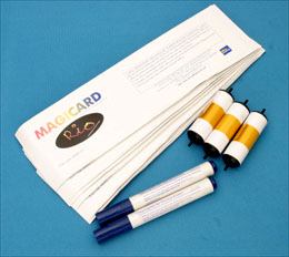Magicard Latin Series Cleaning kit - 10 cards /2 pens/3 rollers