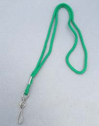 Lanyard Round Cord with Swivel Hook - Close out item
