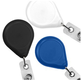 Badge Reel 609-I - Premium with Strap and Slide Clip - 25 Pack