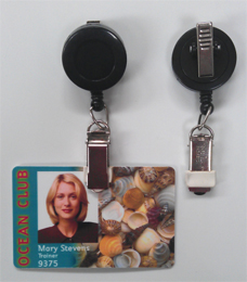 Badge Reel 529-IK6 - Card Clamp and Swivel Clip - Close out item