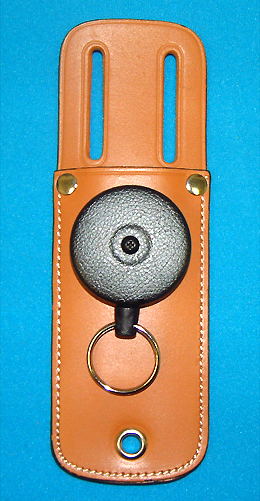 KeyBak Retractor 0489-804 - Heavy Duty with Key Ring - Attached Tool Pouch - Closeout item